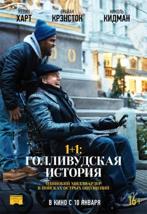 1+1: Голливудская история с 17.01.2019 по 23.01.2019 Кинотеатр Мир