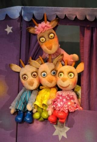 Тук-тук! Хто там?  30.04.2017 Белорусский театр «Лялька»