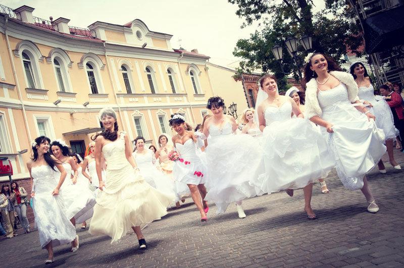 В Харькове пройдет ежегодный парад невест