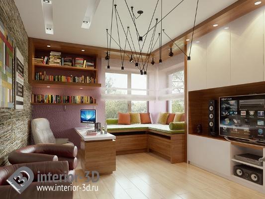 Дизайн интерьера котеджей