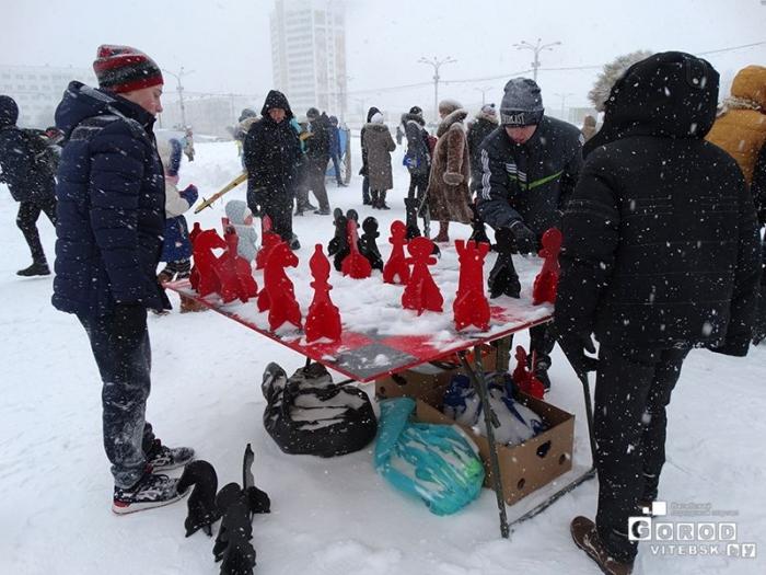 Снежно-шахматный турнир