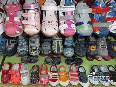 детская обувь в витебске
