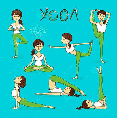 пре-став-ения-йоги-вектора-нарисованные-вручную-40422771