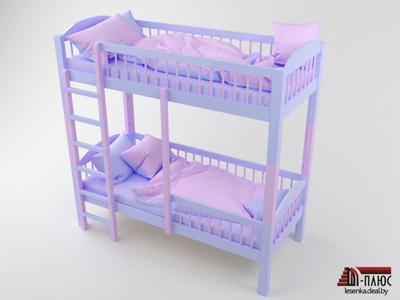 Кроватка-на-шкантах-роз-гол