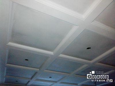 двухуровневый потолок гипсокартон2