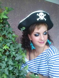 Макияж для пиратской вечеринки фото для девушек7