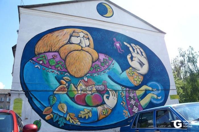 Витебск-граффити