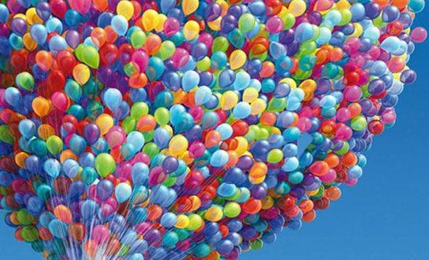 изображения воздушных шаров раскраски