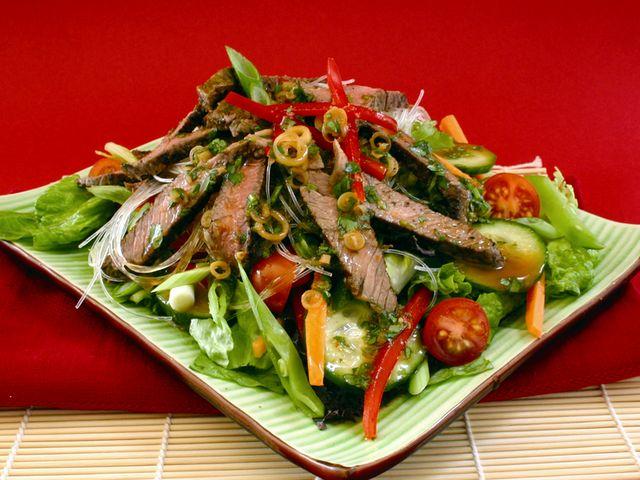 Рецепты салатов из мяса говядины с фото
