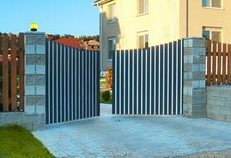 5.Распашные ворота