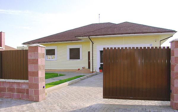 6.Откатные ворота