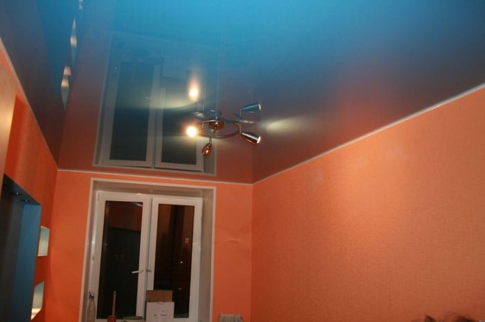 Сатиновый натяжной потолок на кухне отзывы недостатки