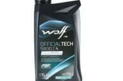 Масло моторное Wolf 5w30 OfficilTech C4