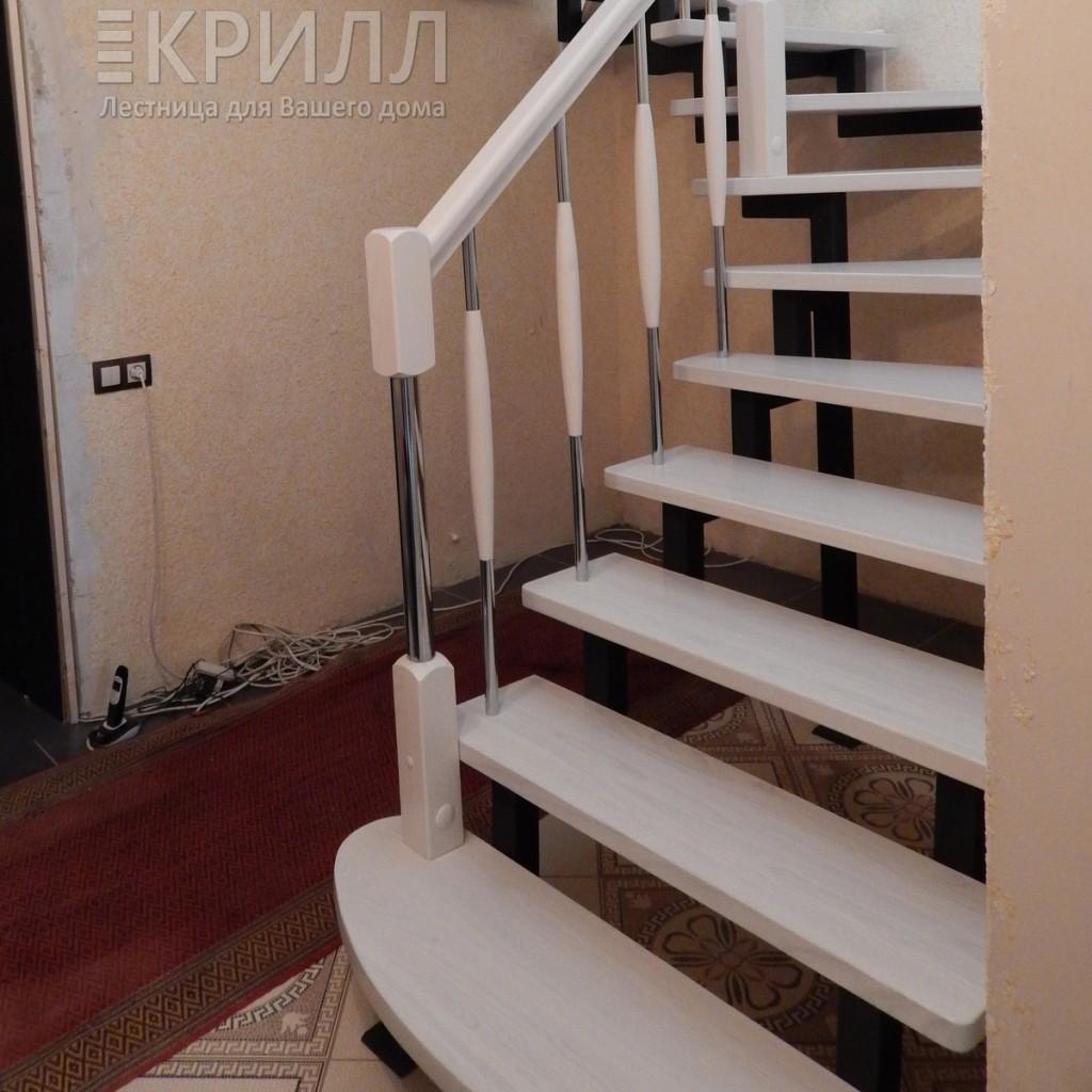 железная лестница в котельную