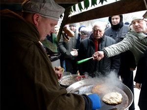 Литовские забавы в Витебске на Масленицу