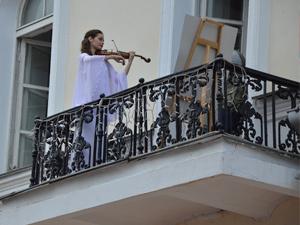 Скрипка, Ратуша, Шагал: в Витебске родилась новая городская традиция!
