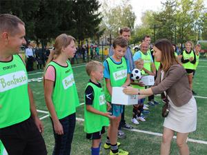 Третье мини-футбольное поле от проекта «Bonfesto – детям»