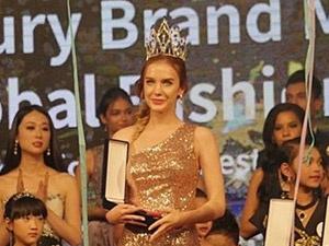 Витебчанка выиграла престижный азиатский конкурс красоты