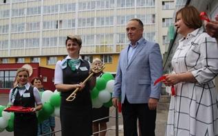 Витебск открывал «Славянский базар», «Беларусбанк» -  модернизированное отделение