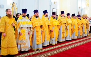 В Витебске торжественно отметили 30-летие восстановления епископской кафедры