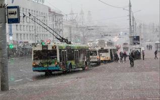 И в конце января — не зима. Погода в Витебске на неделе.
