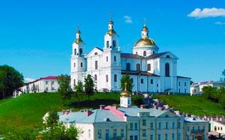 Ковчег с частицей мощей Матроны Московской и крест-мощевик в Витебске