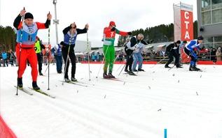 «Витебская лыжня- 2021» собрала в Городке около 500 спортсменов-любителей со всей области