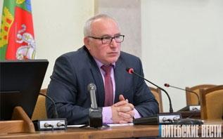 Глава Витебской области Николай Шерстнёв провел пресс-конференцию для представителей республиканских и региональных СМИ