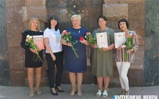 Лучших работников торговли чествовали в Витебске