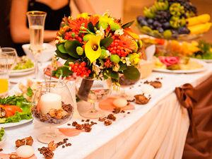 Фото свадьба в осеннем стиле