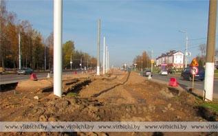 Улица Терешковой в Витебске станет шире. Сколько тут будет полос движения?